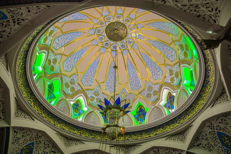 Kul Sharif Mosque no Kremlin de Kazan imagem de stock