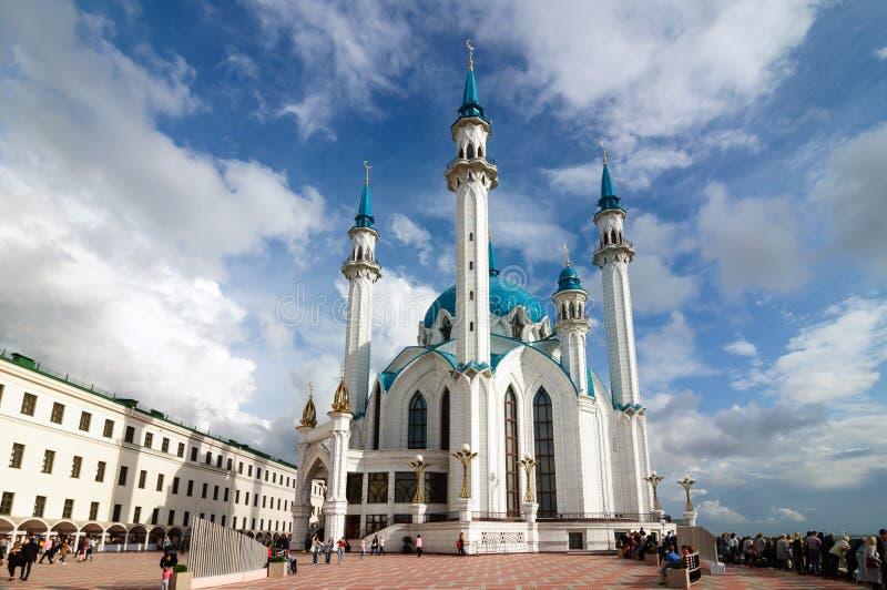Kul Szarif, główny meczet Republiki Tatarstanu, Rosja obrazy royalty free
