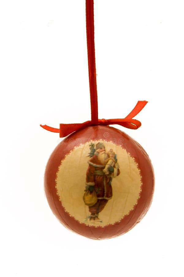 kula ornament świąteczne obraz stock