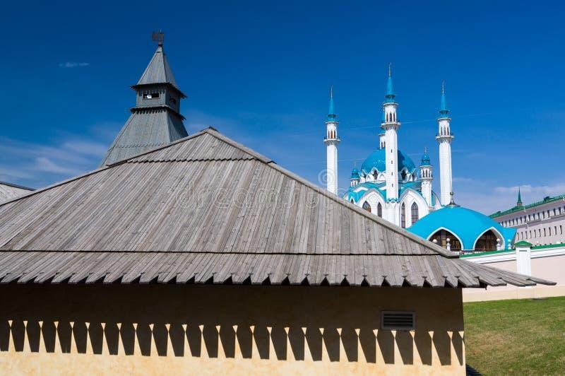 Kula Sharif meczet w Kazan Kremlin Unesco Światowego Dziedzictwa Miejsce fotografia royalty free