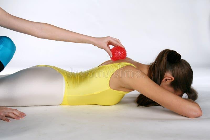 kula spike masaż. zdjęcia royalty free