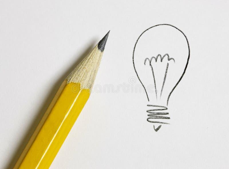 kula tecknad handlampa royaltyfria foton