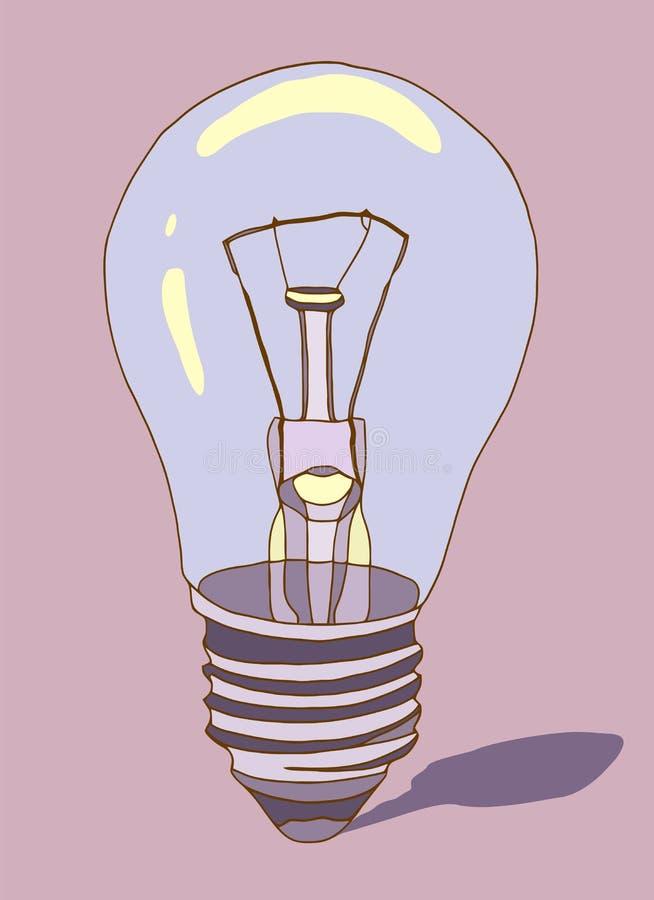 kula tecknad handlampa Vektor i tecknad filmstil också vektor för coreldrawillustration vektor illustrationer