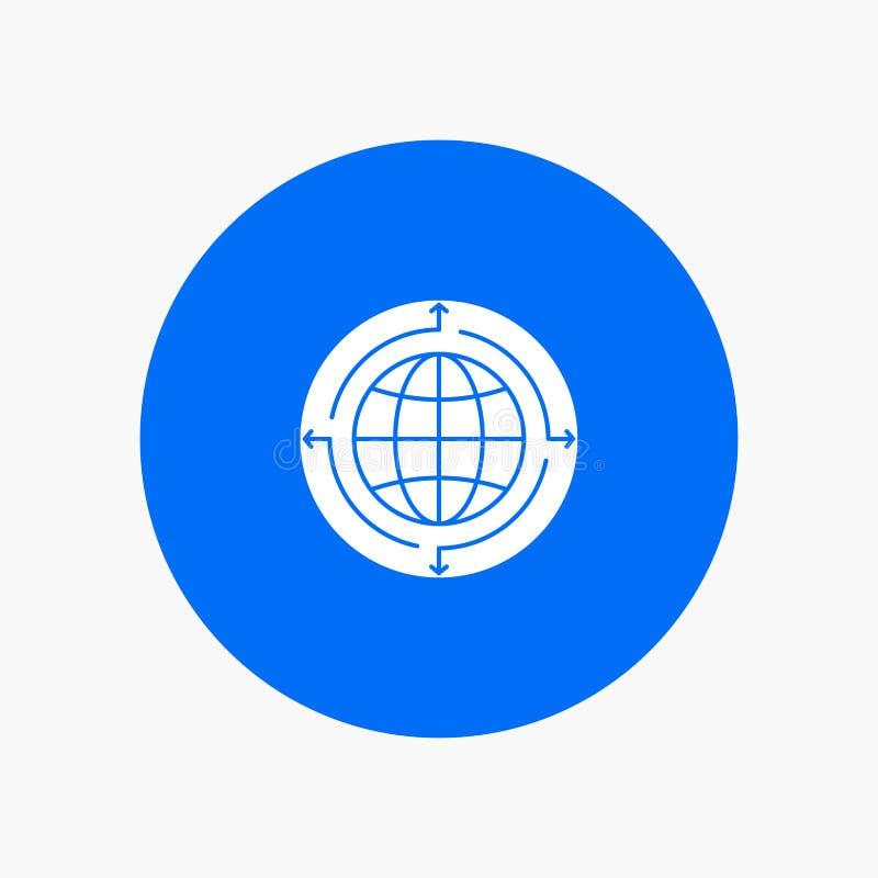 Kula ziemska, biznes, komunikacja, związek, Globalny, świat ilustracji