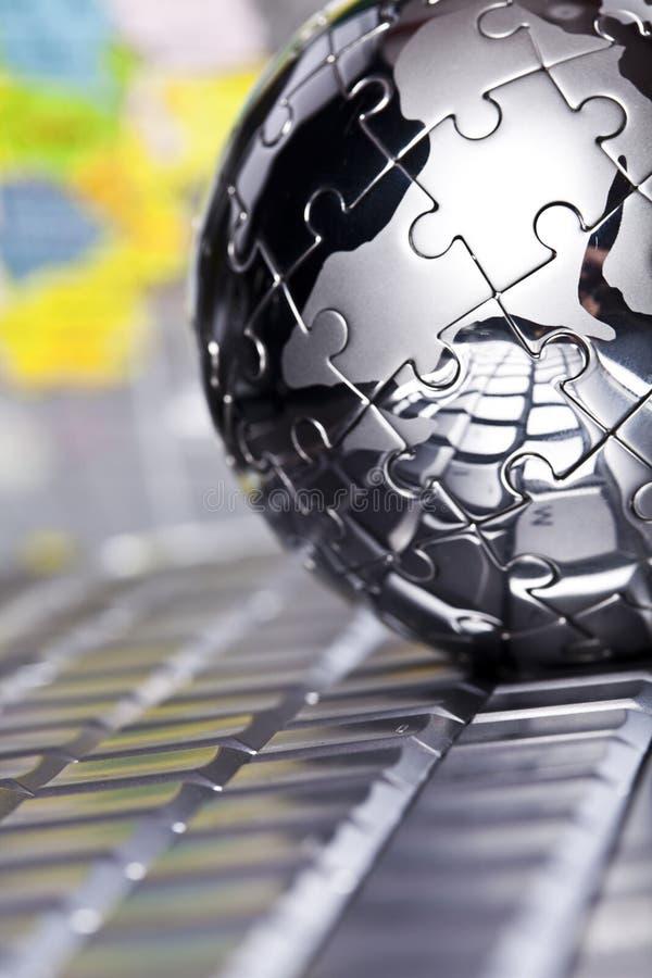 kula ziemska metal zdjęcia stock
