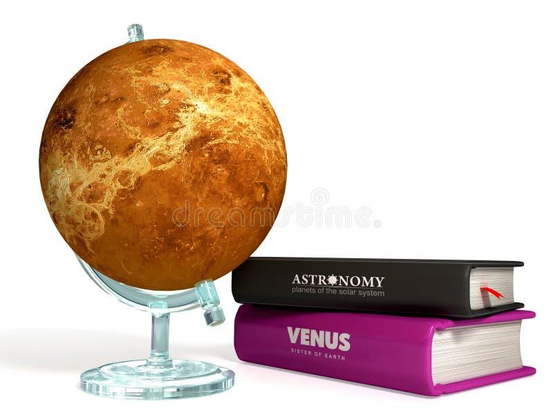 Kula ziemska Wenus 3D ilustracji