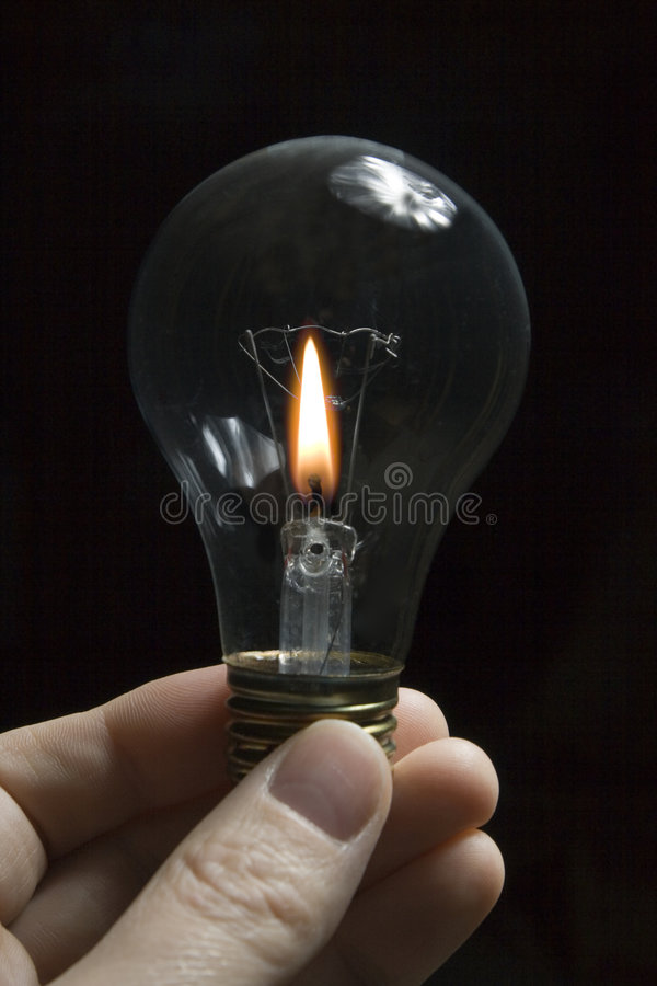 kulastearinljuslampa royaltyfri fotografi