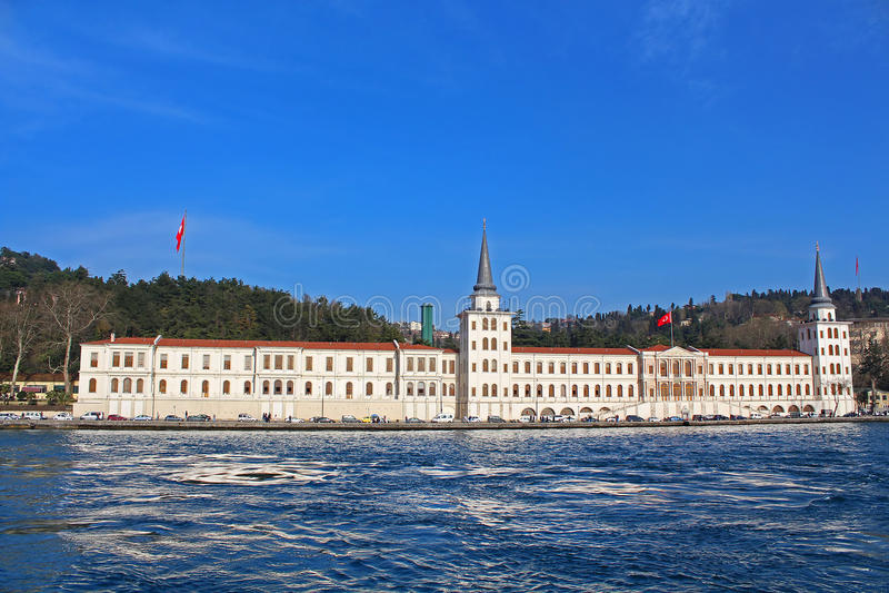 Kuleli military high school, Istanbul, Turkey royalty free stock images