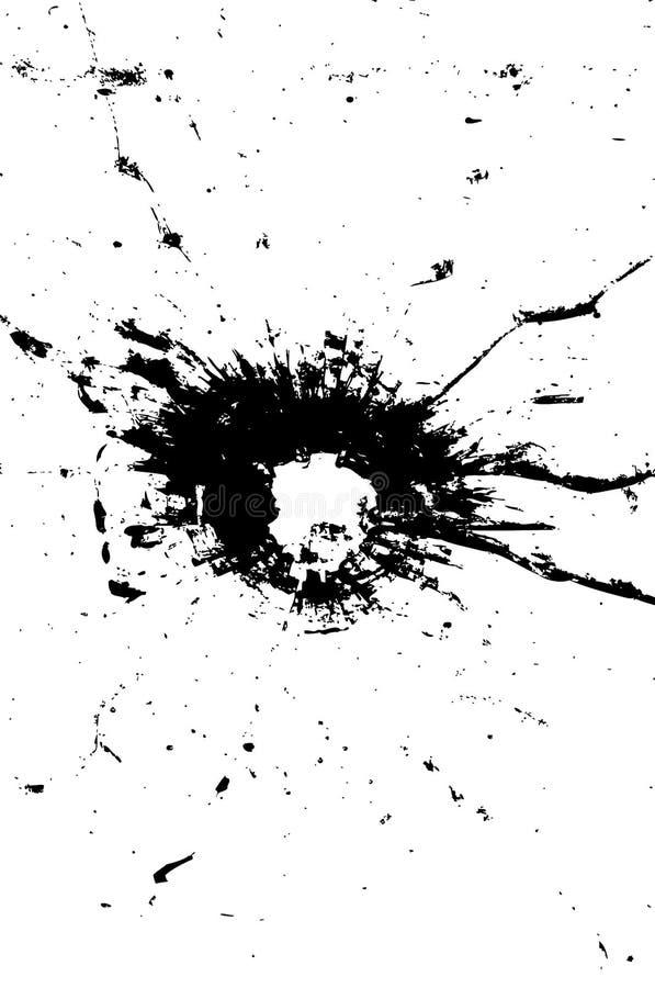 kulhål stock illustrationer