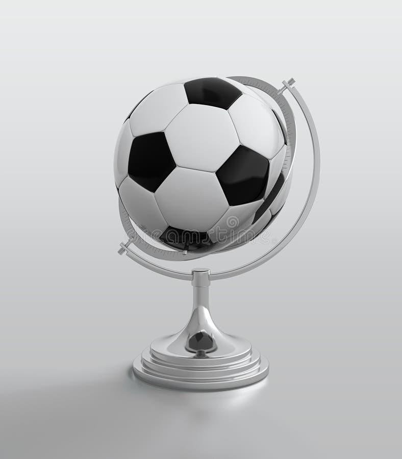 kuli ziemskiej balowa piłka nożna royalty ilustracja