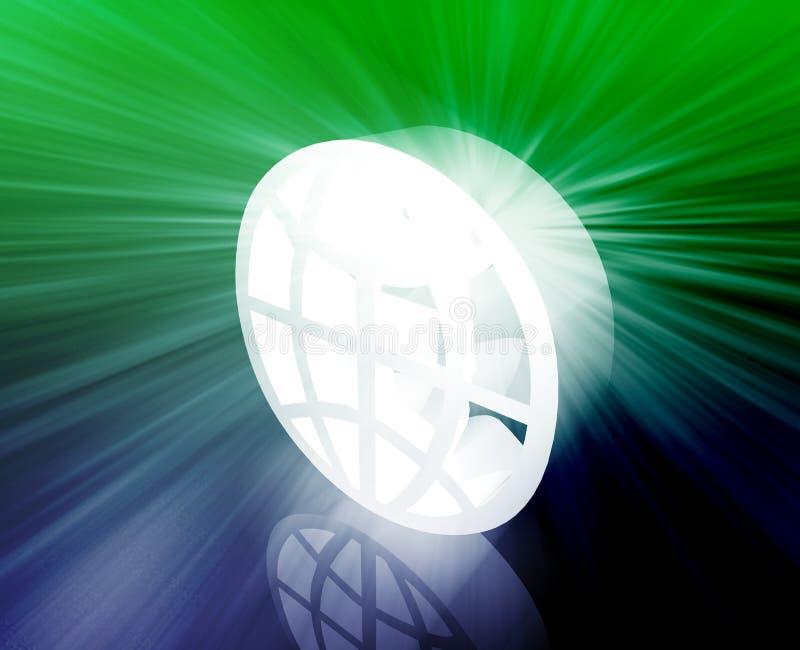 kuli ziemskiej zawody międzynarodowe symbol royalty ilustracja