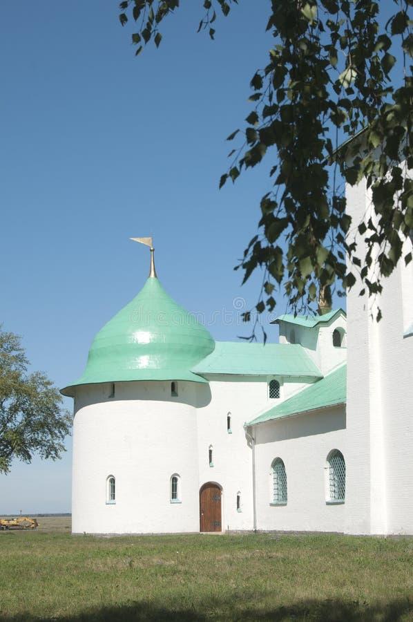 Kulikovo域的Sergiy Radonezhskiy教会 免版税库存图片