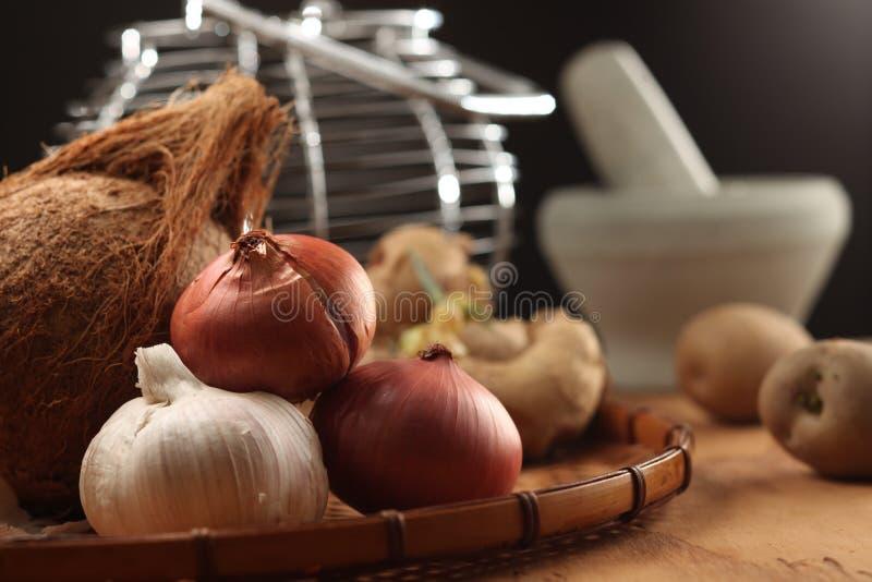 Kulinarischer Bestandteil stockfotografie