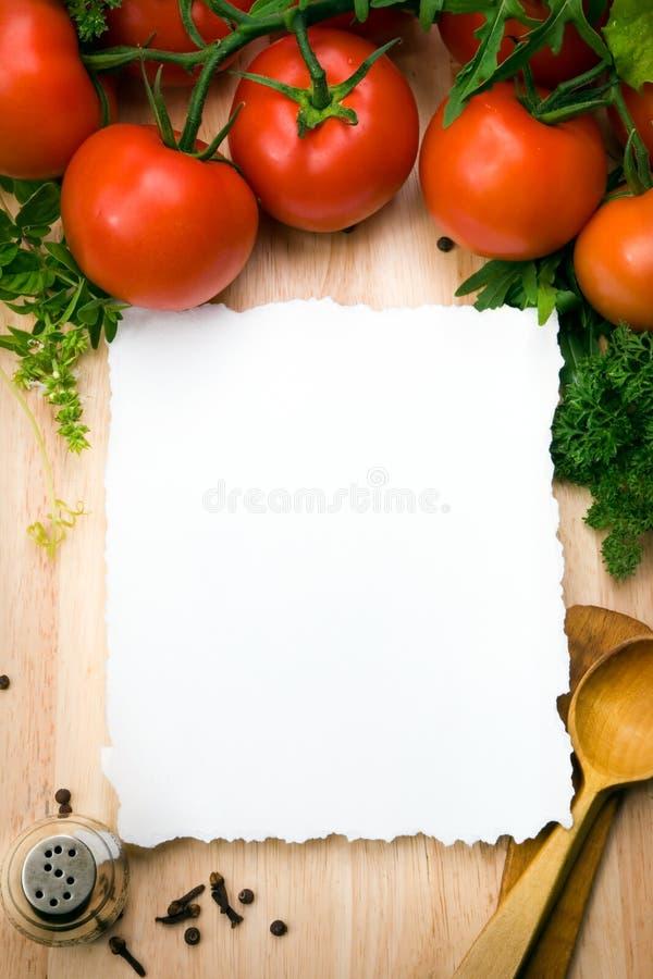 kulinarisk konstbakgrund royaltyfri bild