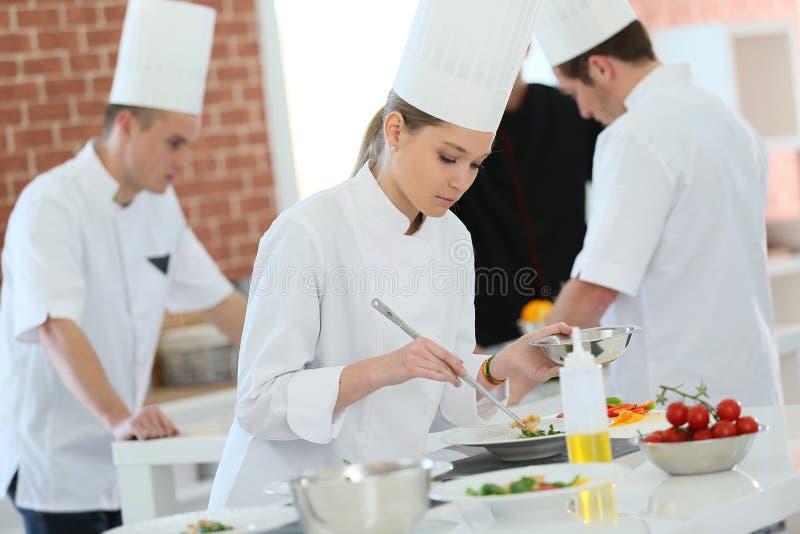 Kulinarna aplikantura zdjęcia royalty free