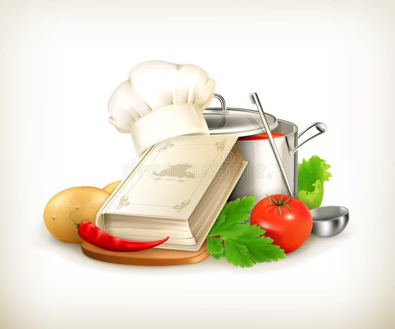 Kulinarna ilustracja royalty ilustracja
