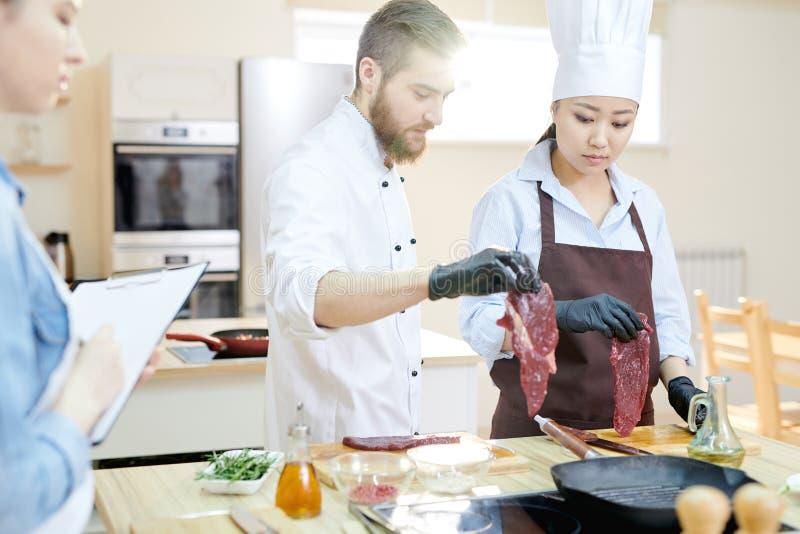 Kulinarna klasa zdjęcia stock