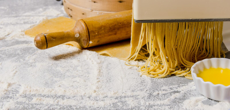 Kulinarni kluski zdjęcie royalty free