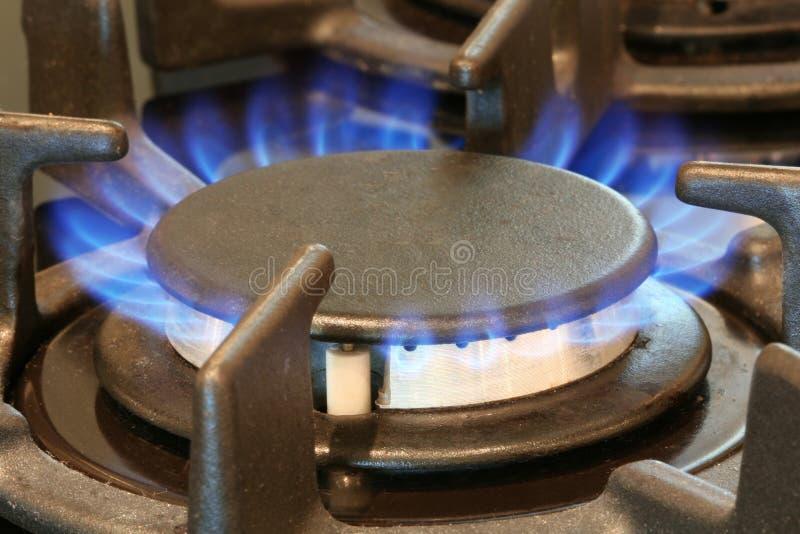 kulinarny gazu zdjęcie stock