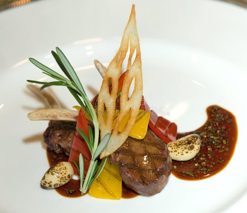 kulinarny Kuala Lumpur jagnięciny upiec Malaysia obrazy royalty free