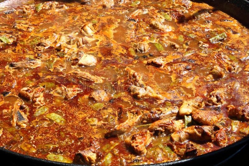 kulinarny kurczaka creole fotografia royalty free