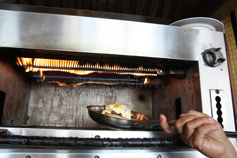 kulinarny piekarnik obrazy stock