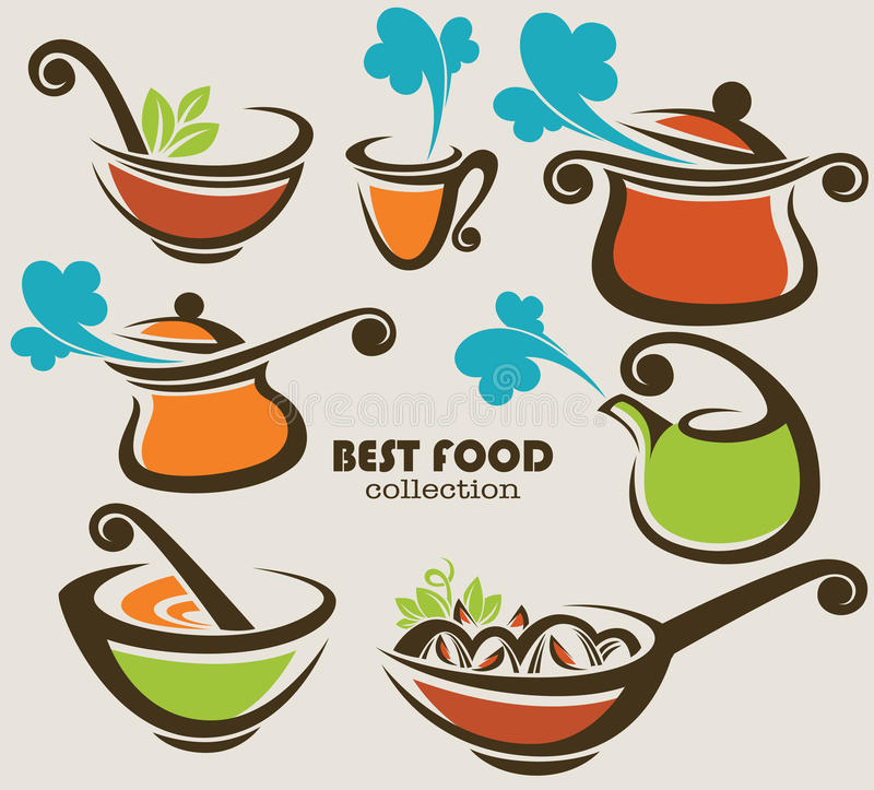 kulinarny wyposażenie ilustracji