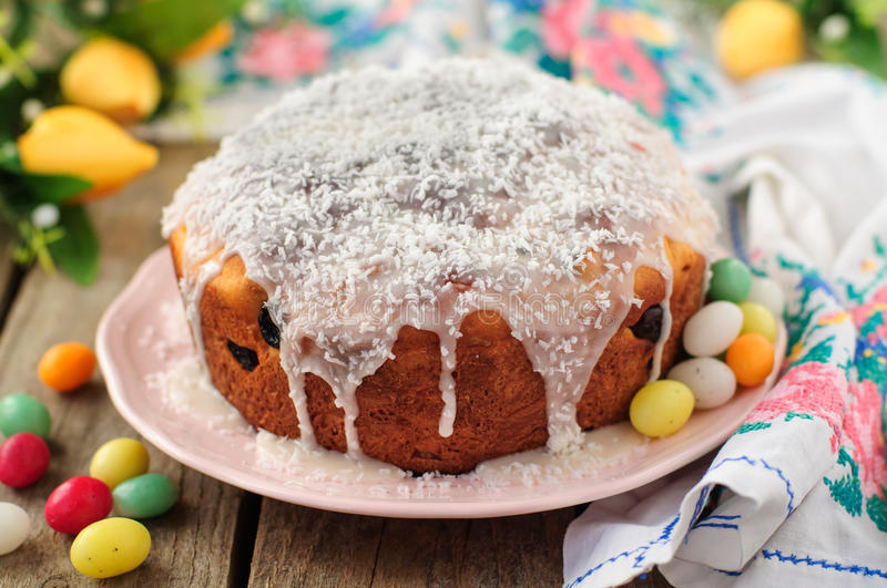 Download Kulitch (Kulich), Russian Easter Bread Stock Image - Image: 38007599