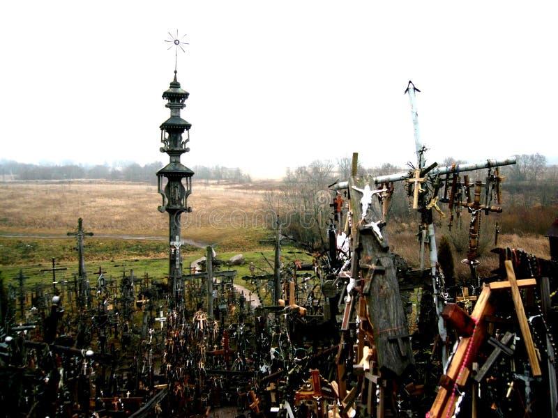 Kull av kors fotografering för bildbyråer
