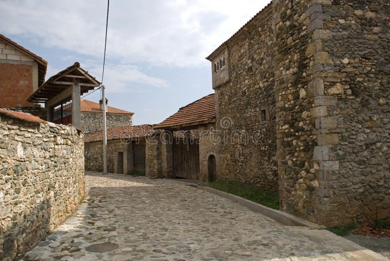 Kulla dom, Dranoc, Kosowo obraz royalty free