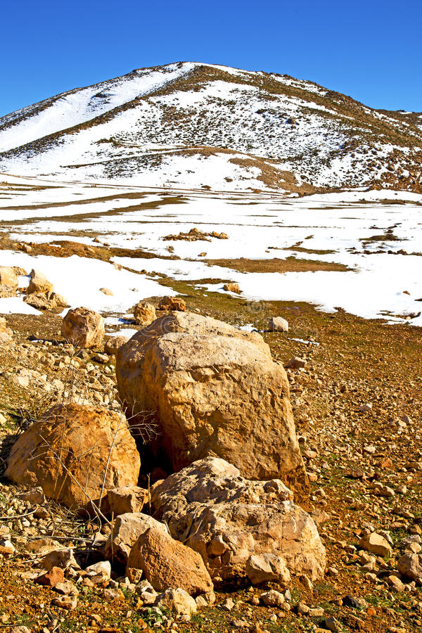 kulle i africa Marocko royaltyfri fotografi