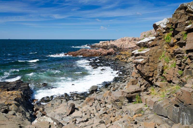 Kullen-Seeküste lizenzfreie stockbilder