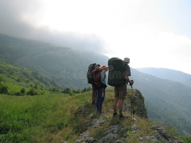 Download Kullfolk arkivfoto. Bild av green, natur, fotvandra, bergsbestigning - 994798