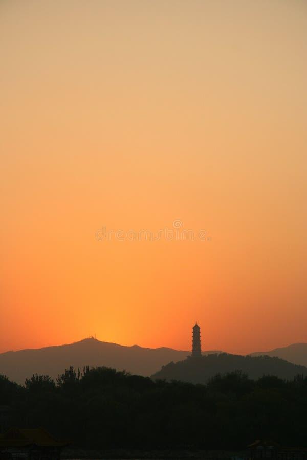 kullpagoda royaltyfri foto