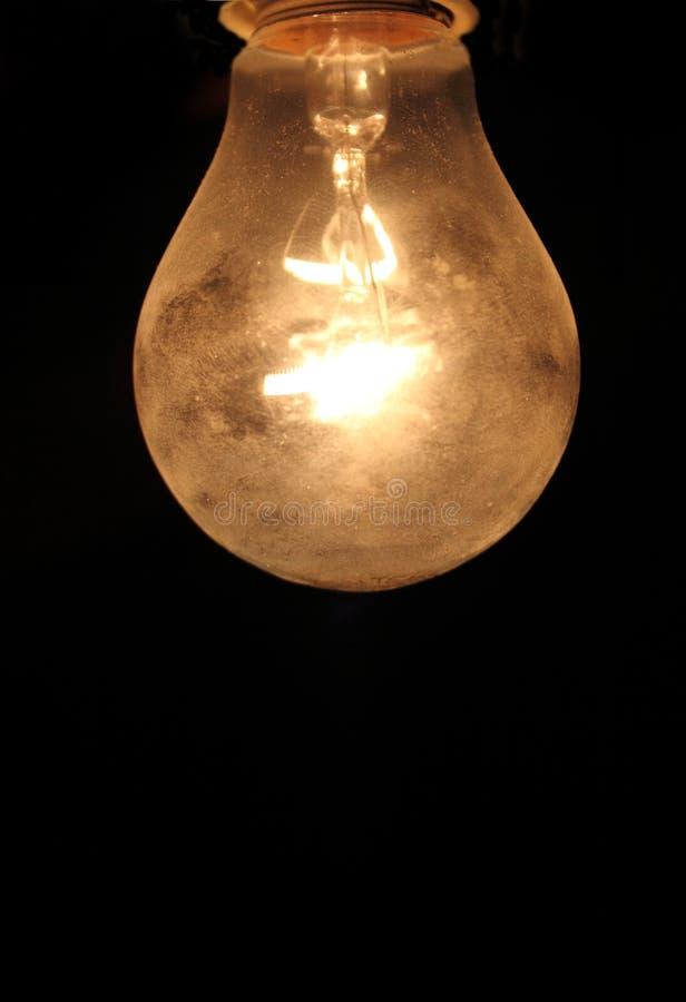Kulor - gult ljus - Thomas Edison royaltyfri bild