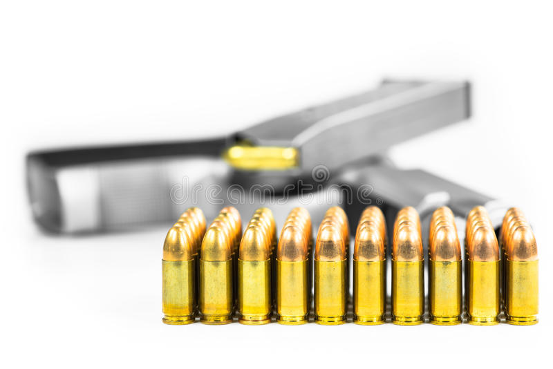 Kulor med vapnet royaltyfri fotografi