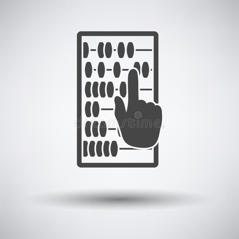 Kulramsymbol stock illustrationer