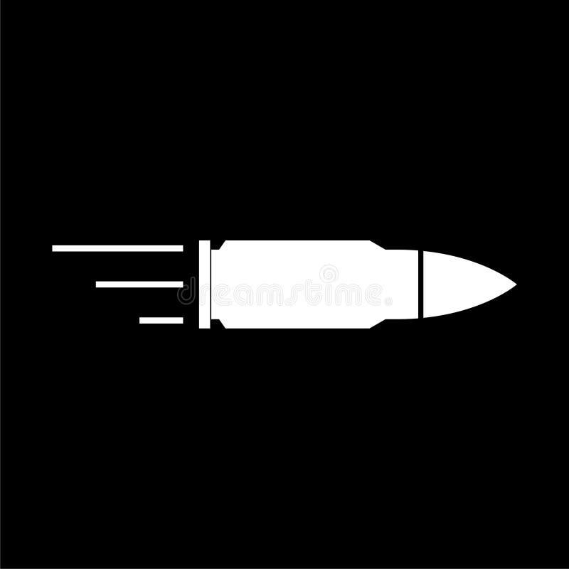 Kulsymbolen, kulor undertecknar på mörk bakgrund royaltyfri illustrationer