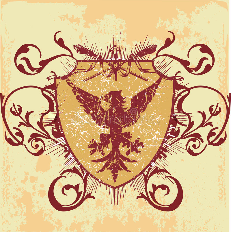 kultmode royaltyfri illustrationer
