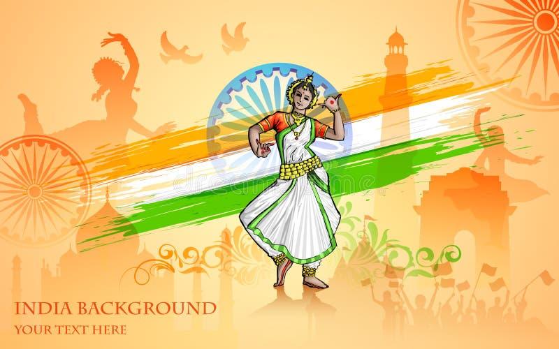 Kultur av Indien stock illustrationer