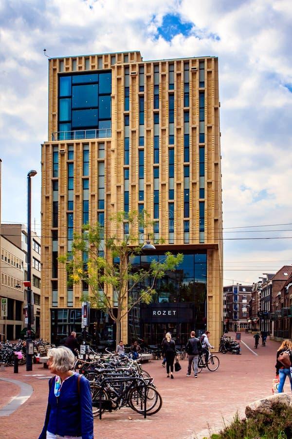 Kulturell mittde ` Rozet ` i Arnhem, Nederländerna arkivfoton