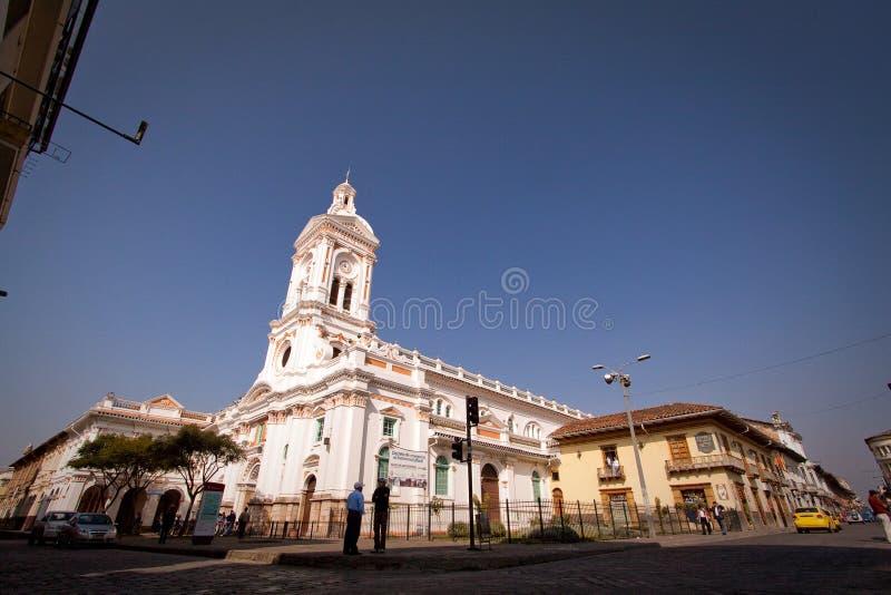 Kulturell och historisk gränsmärke Iglesia de San royaltyfri bild