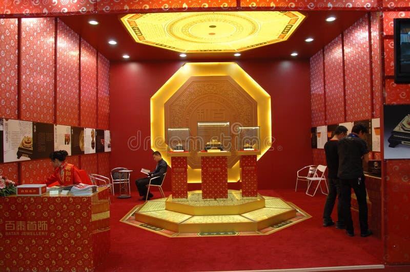 kulturell utställning shenzhen för porslin arkivbild