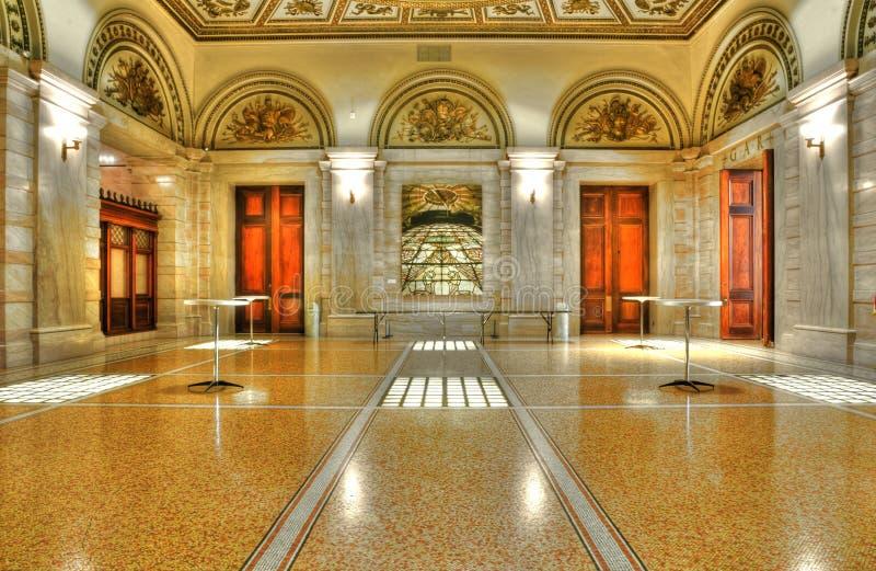 kulturella center chicago arkivbild
