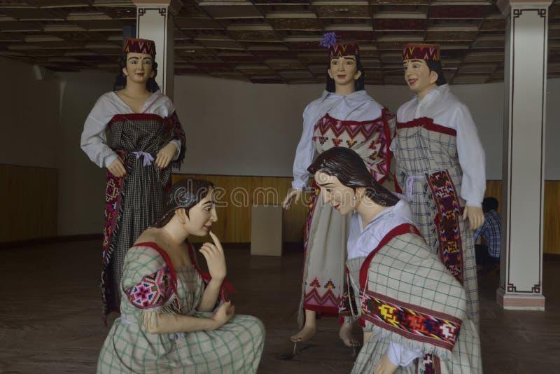 Kulturelle Statue stockfoto