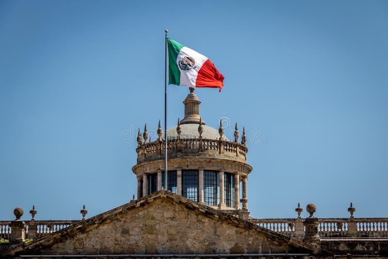 Kulturellt institut för Hospicio CabanasCabanas - Guadalajara, Jalisco, Mexico royaltyfria bilder