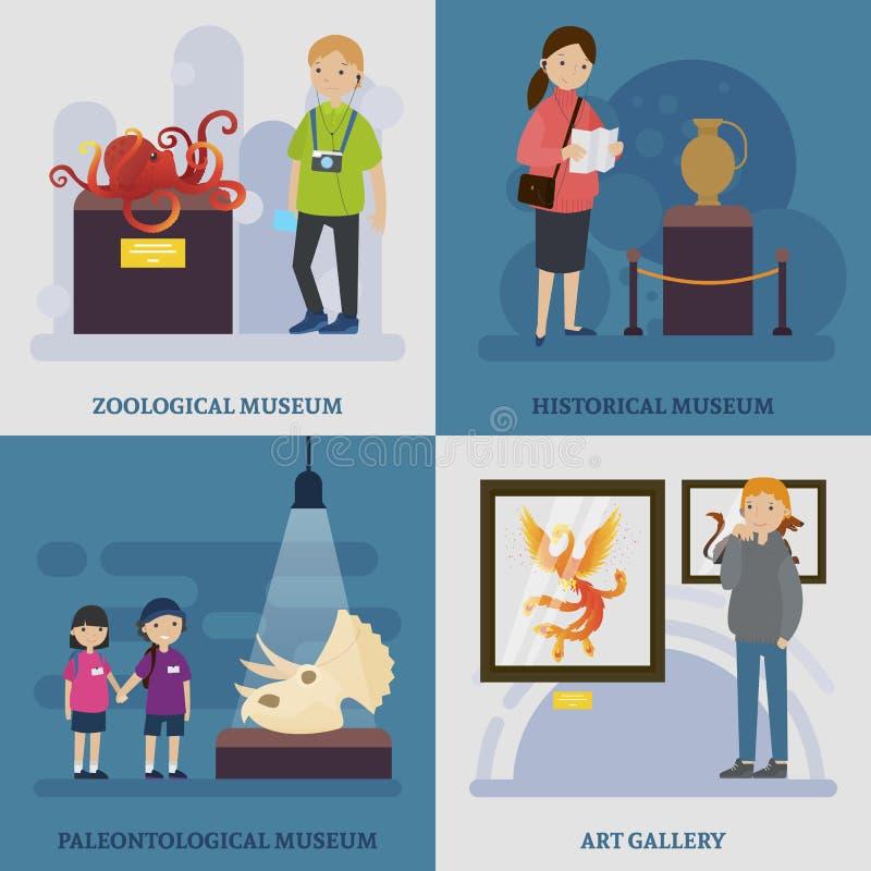 Kulturellt vila begreppet vektor illustrationer