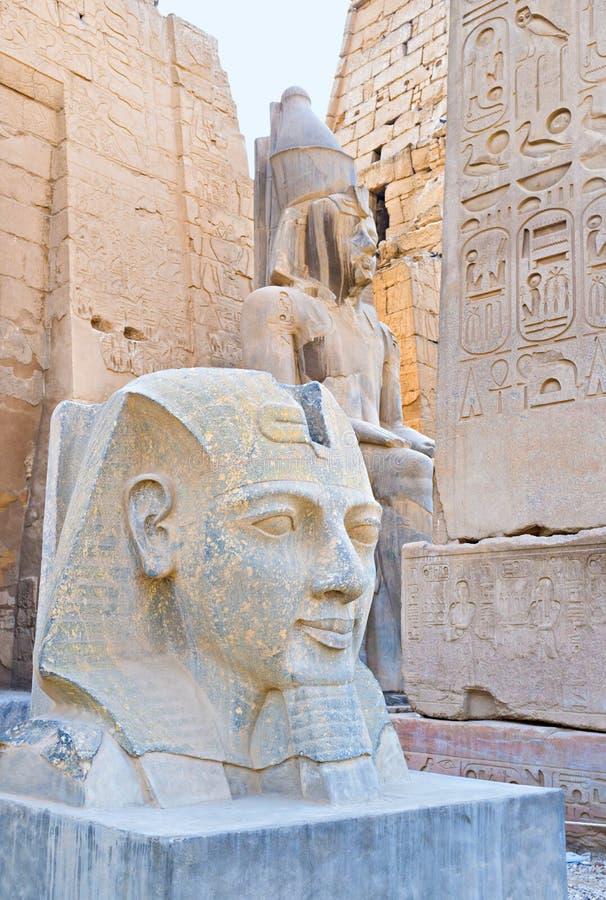 Kulturen av forntida Egypten royaltyfri bild