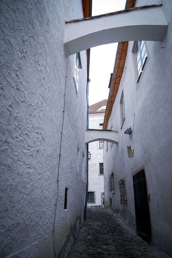 Kulturerbe in Krems, Österreich stockfotos