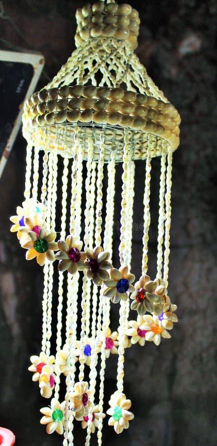 Kulturföremål som lampor handcraft gjort av salt arkivfoto